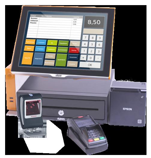 kasse standscanner terminal